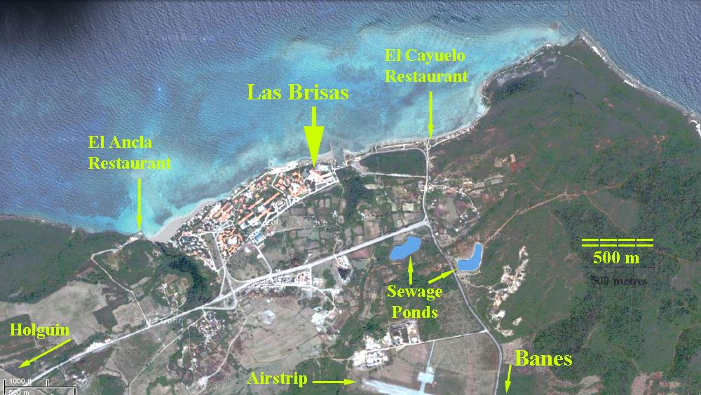 Cuba - Birding Sites and Maps, Guardalavaca area, Holguin Province ...